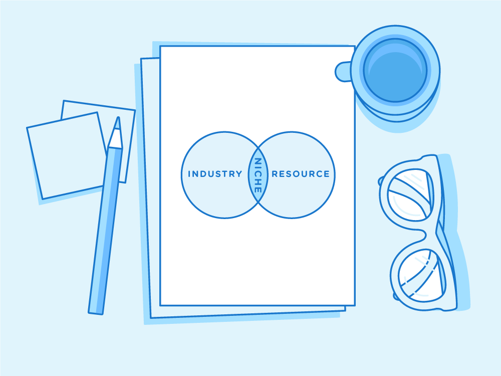 By choosing a specific part of an industry and a resource you can provide you create a niche. For example, Passive Income for Designers is resources on passive income for people in the graphic design industry. Whoa, that's sorta blowing my mind!