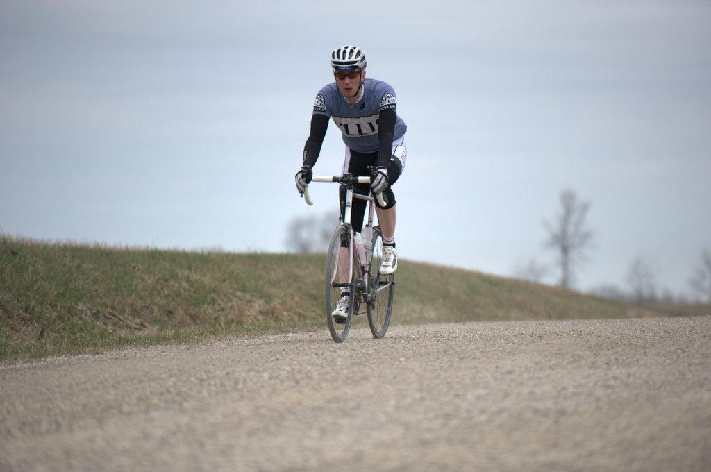 Dave at Cheesehead Roubaix