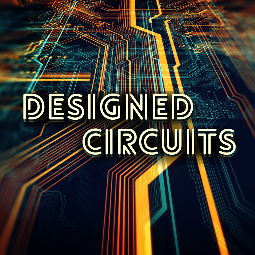 Designed Circuits captures the essence of electric circuits and transforms them into something new. It features special sound effects, ambiences, glitches, drones, and more, that range from heavily designed to basic elements -