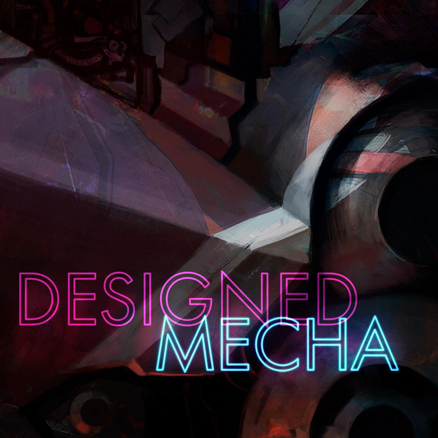Designed Mecha is all about exploring the inner and outer working mechanisms of an at times slightly malfunctioning mecha and its environment. It features various kinds of mecha / robot sound effects, ambiences, mechanism and servo sounds, impacts, and glitches -
