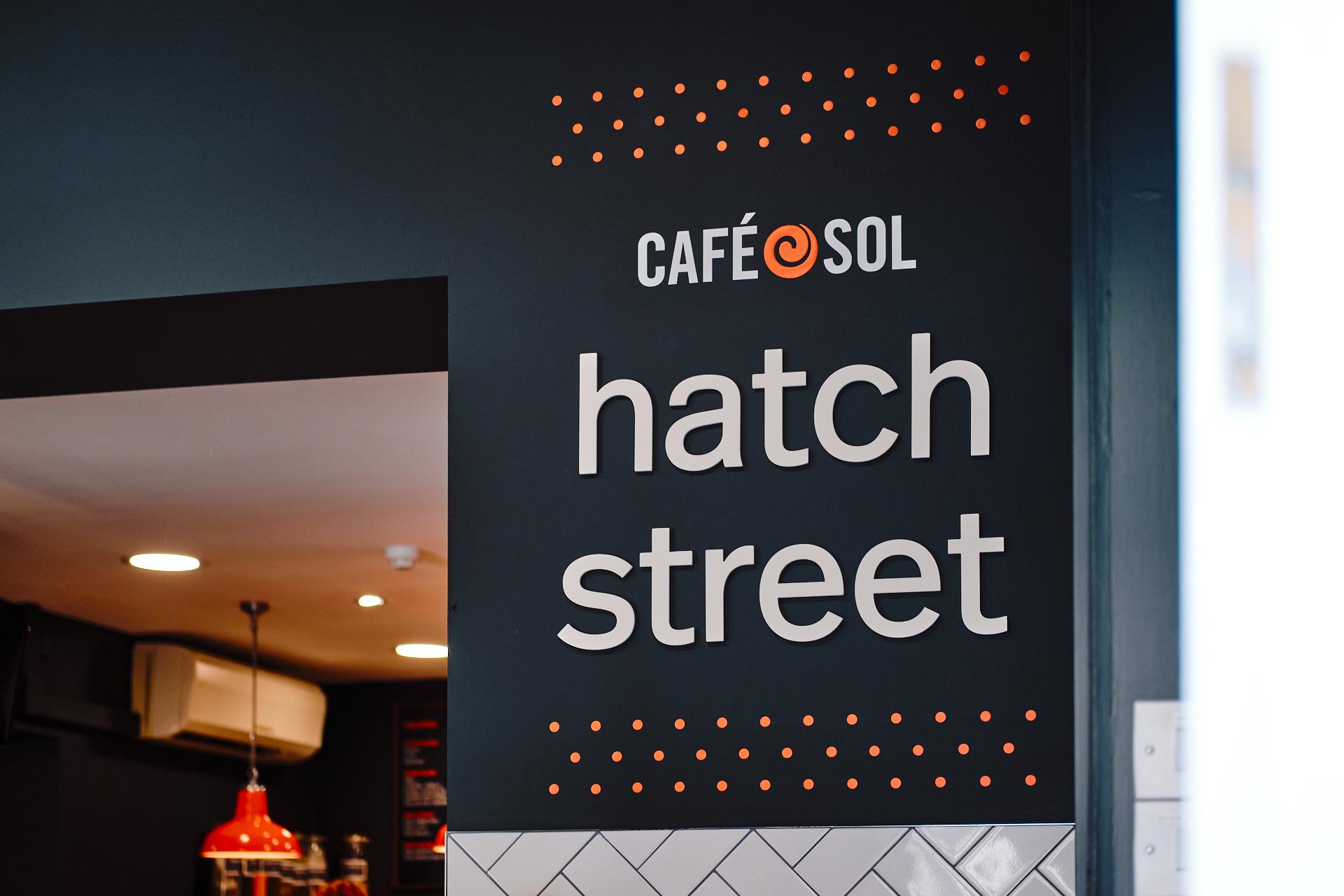 brennan & stevens Cafe Sol branding