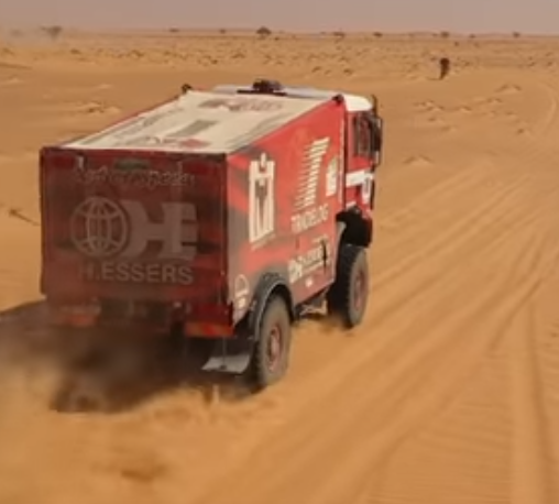 A desert bohemoth in Mauritania
