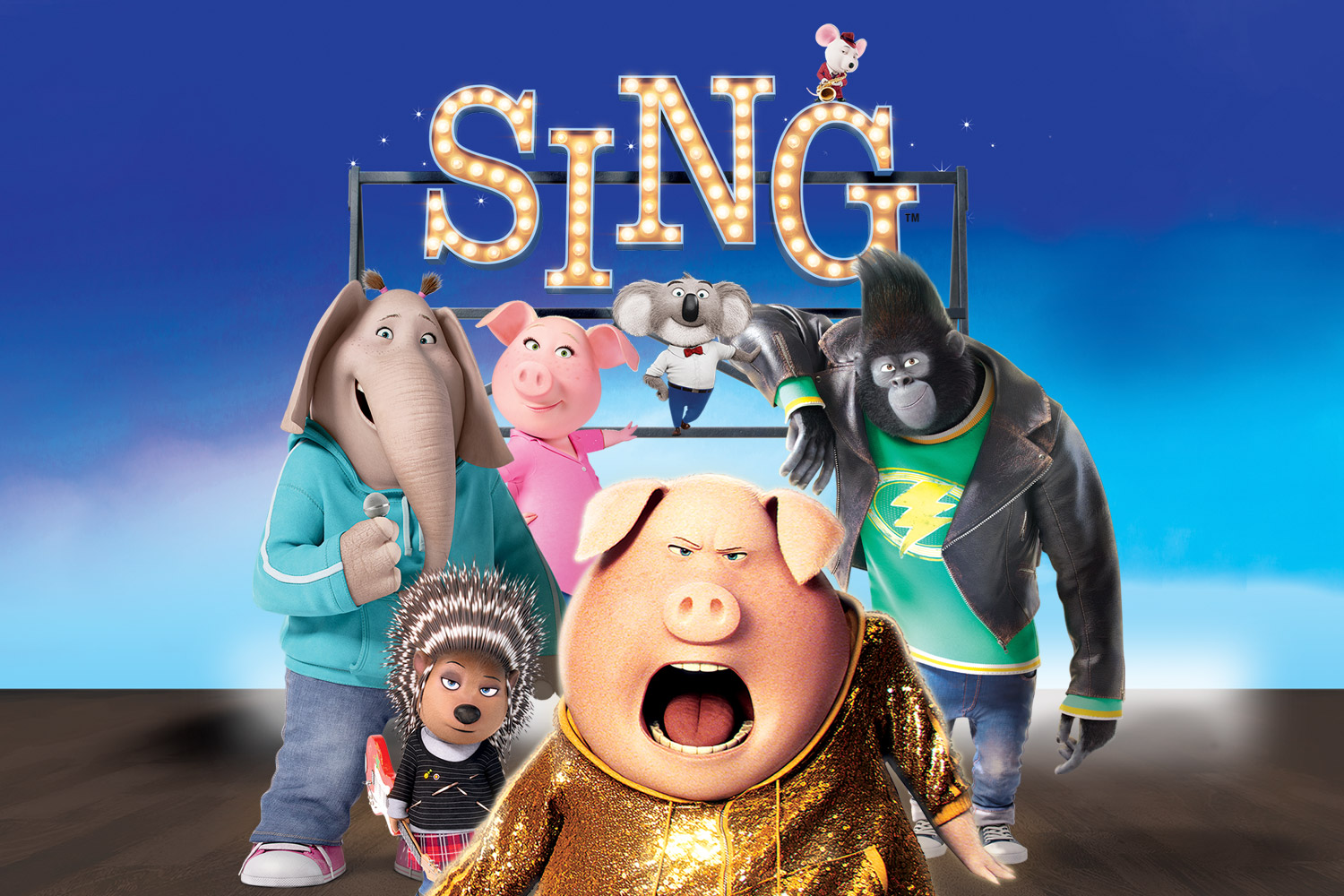 Sing Promotional Image (C) Universal Pictures