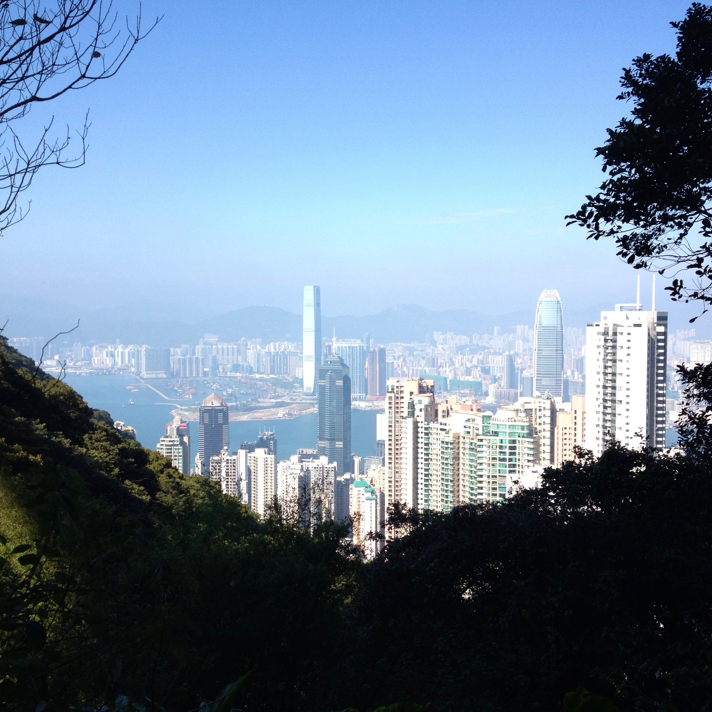 Nothing like a Fin'Tonic after a walk up the Hong Kong peak!