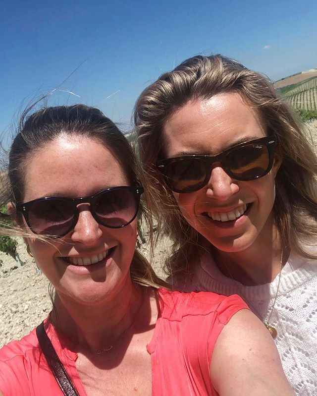 #Throwback to Xequitas Beanie and Alexa enjoying one of the many glorious sunny days in Jerez on a recent trip to XECO's home, the beautiful @bodegadiezmerito vineyards  #givemeaxeco #jerez #vineyards #xecowines