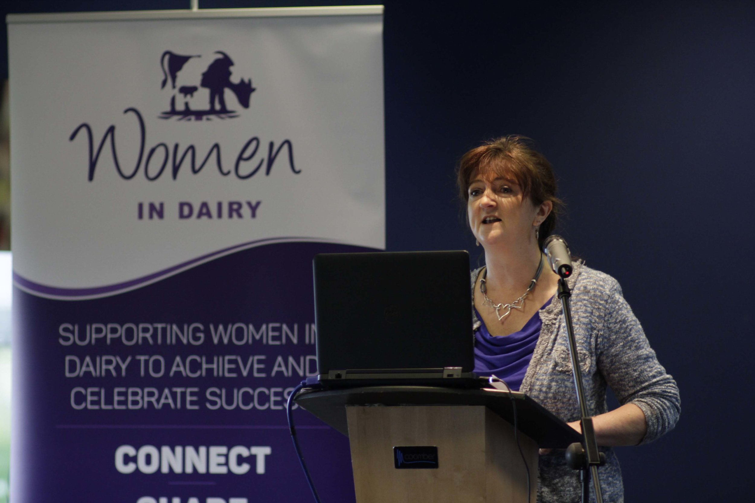 Caroline Drummond, chief executive of LEAF, opened the conference