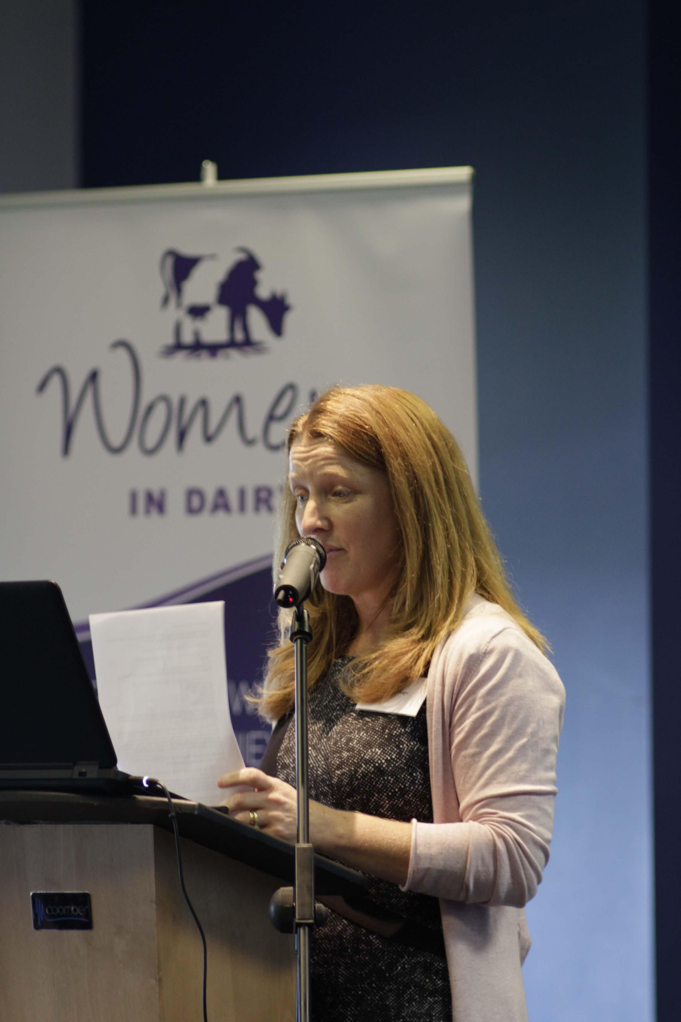 Di Wastenage, Farmers Weekly Dairy Farmer of the year finalist 2015