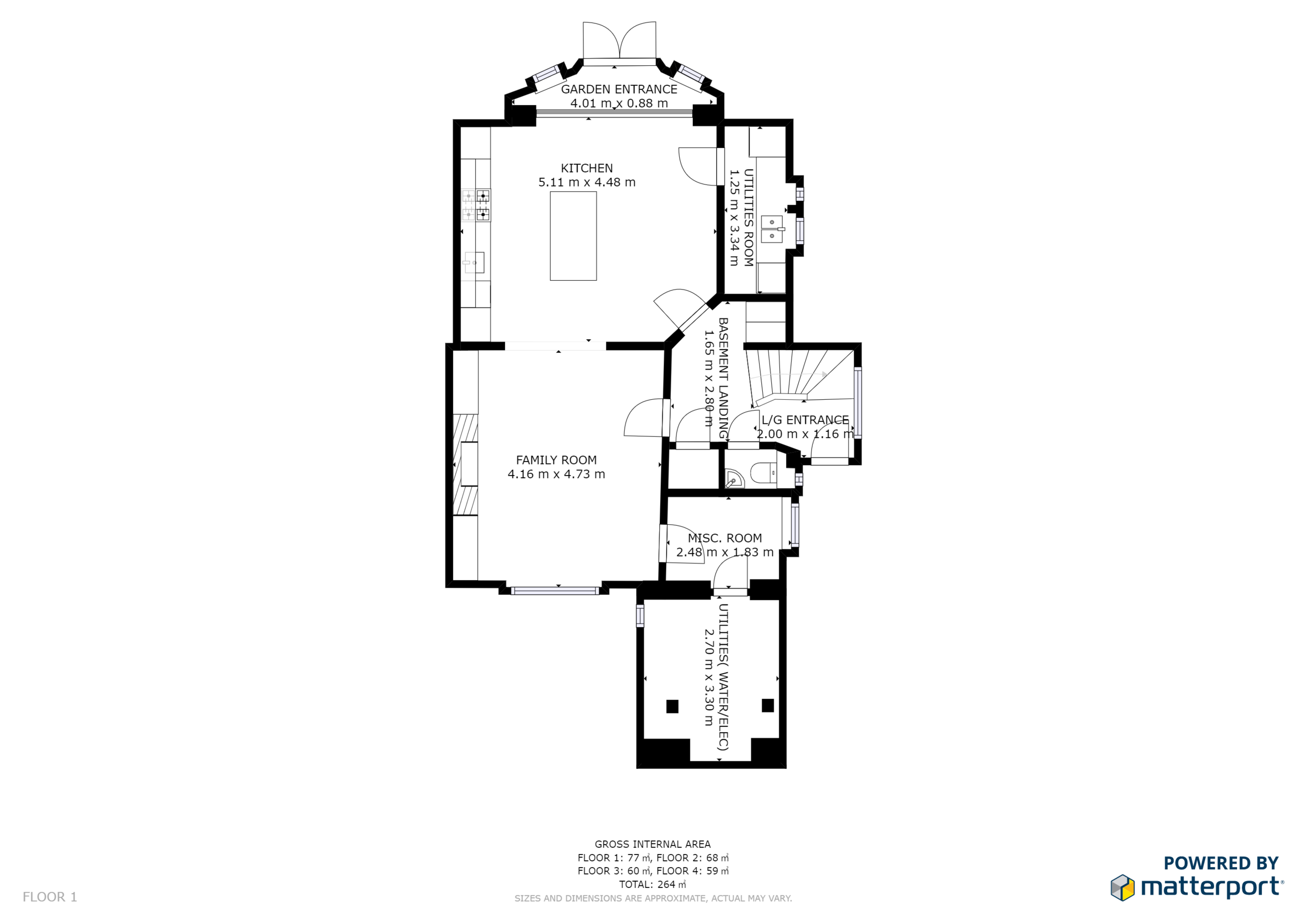 Floor plans. - Schematic floor plans are available for a one time low cost fee, created from the scan data.