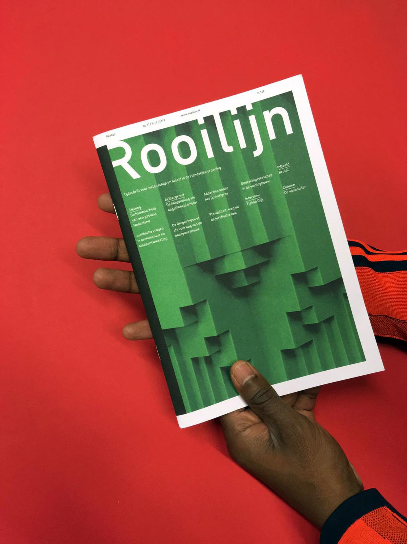 The latest issueof Rooilijn Magazine featured José Montoya's work.Inbeeld: Brutal (Jg.51/ Nr.3 /2018) -