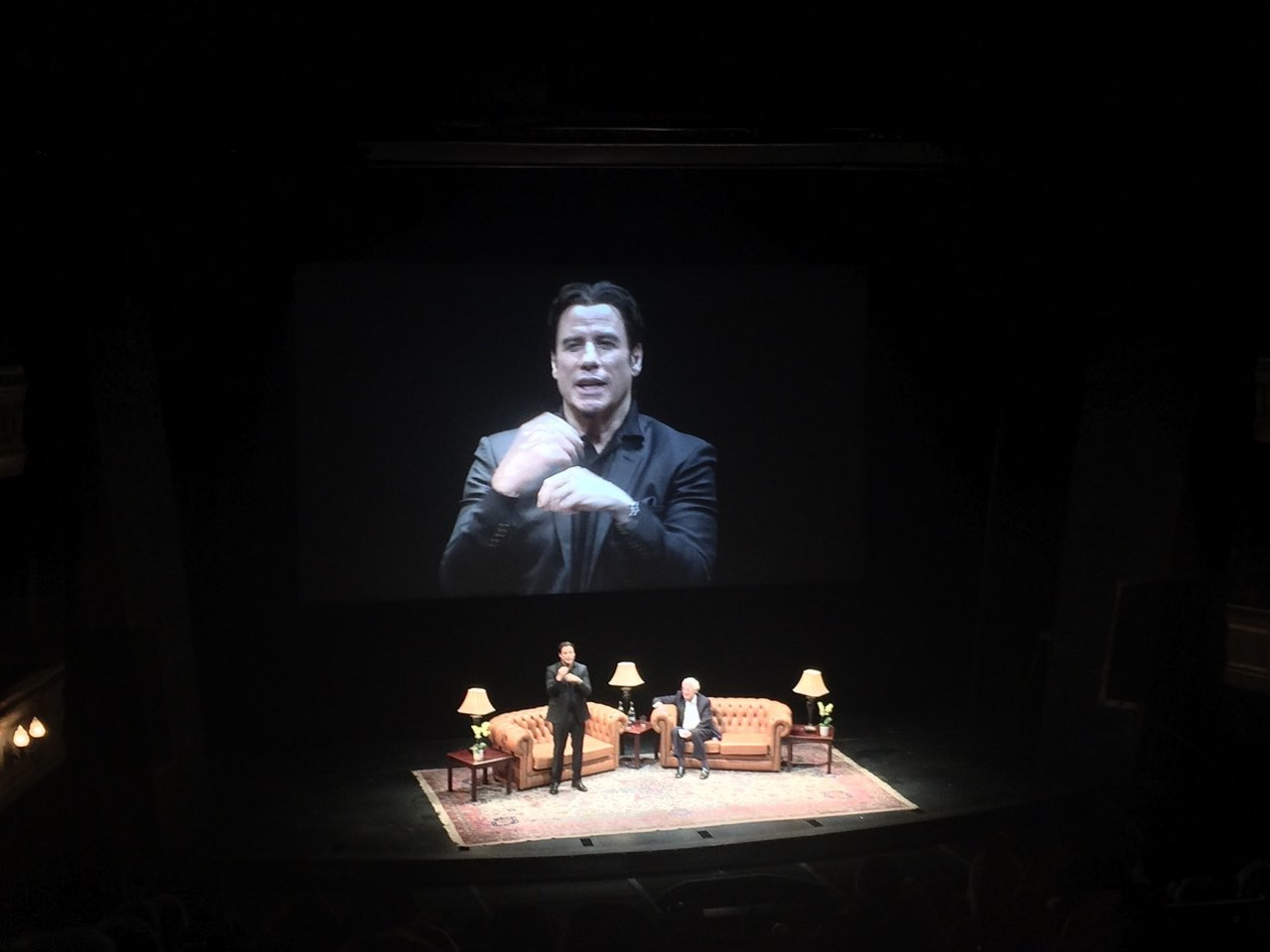 A Conversation with John Travolta (2014)