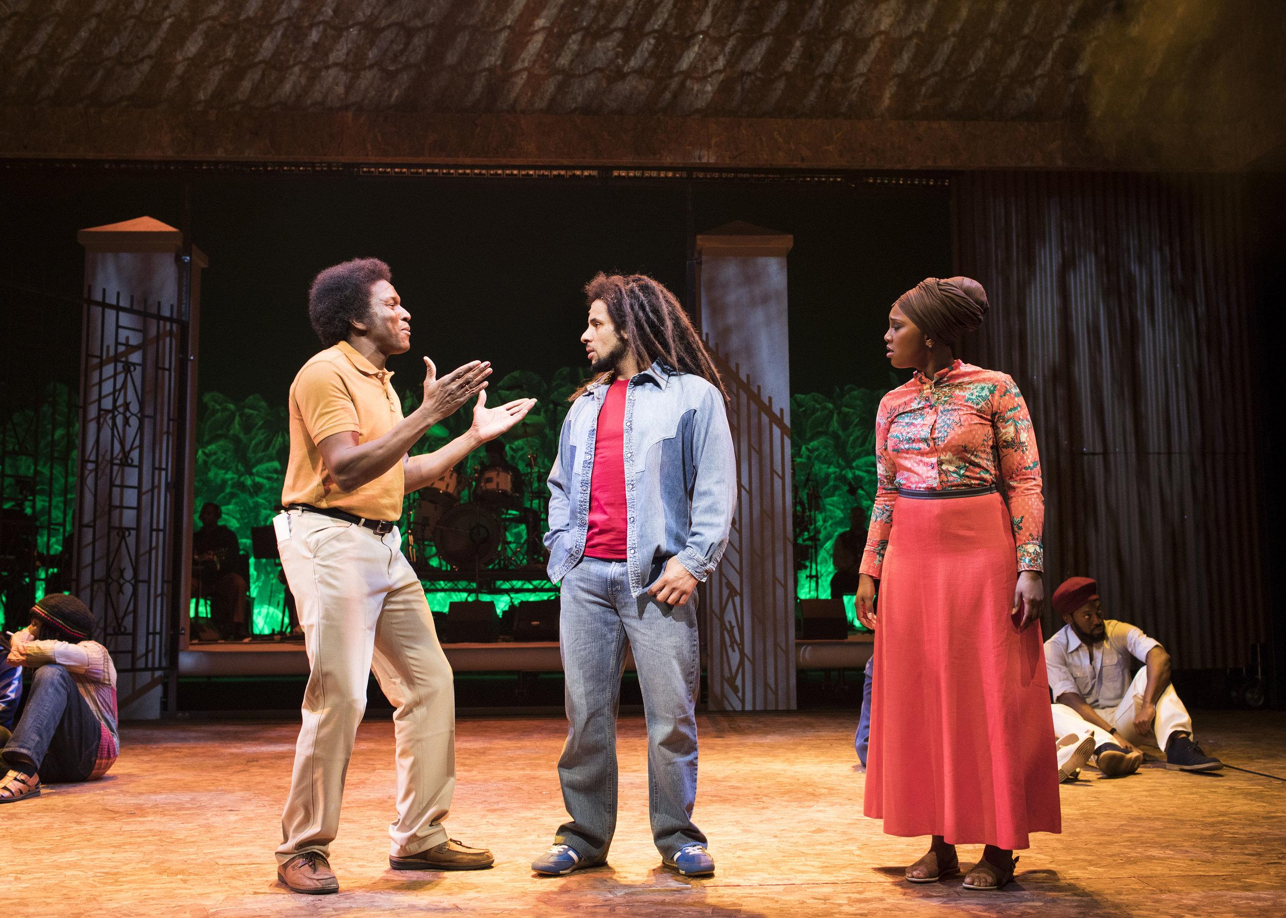 Delroy Brown (Don Taylor), Mitchell Brunings (Bob) and Alexia Khadime (Rita Marley).jpg