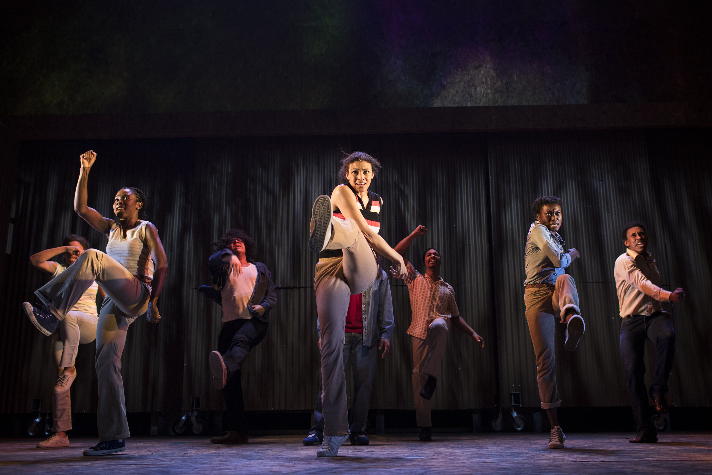 The cast of One Love - The Bob Marley Musical © Helen Maybanks.jpg