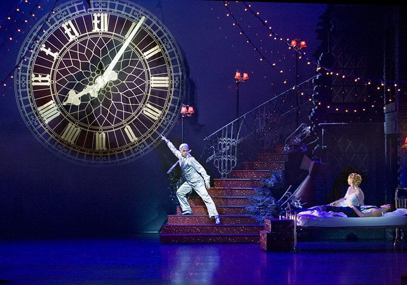 "MATTHEW BOURNE'S CINDERELLA - ""The set dazzles in the third act, with the assistance of Duncan McLean's projection creating some of the most realistic rain ever seen onstage""EW""The Projection Design was excellent""Broadway World"