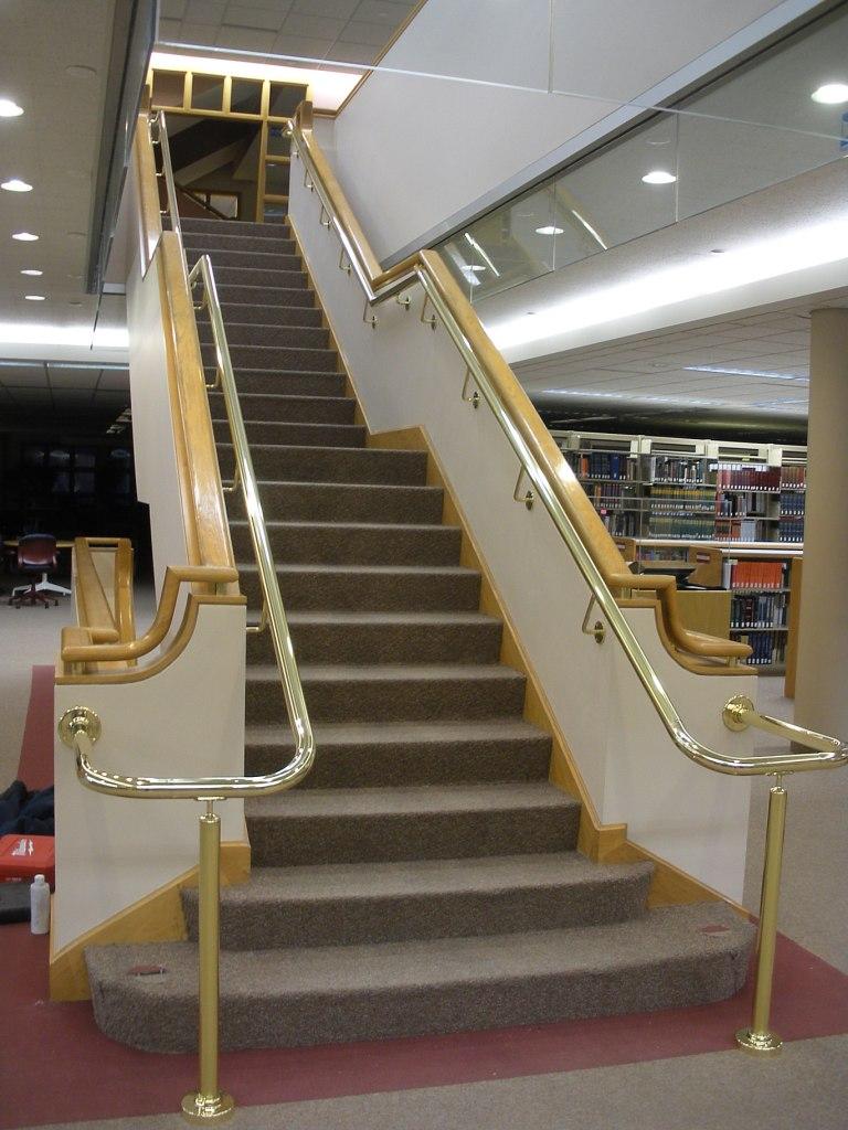 Hope College brass handrail.JPG