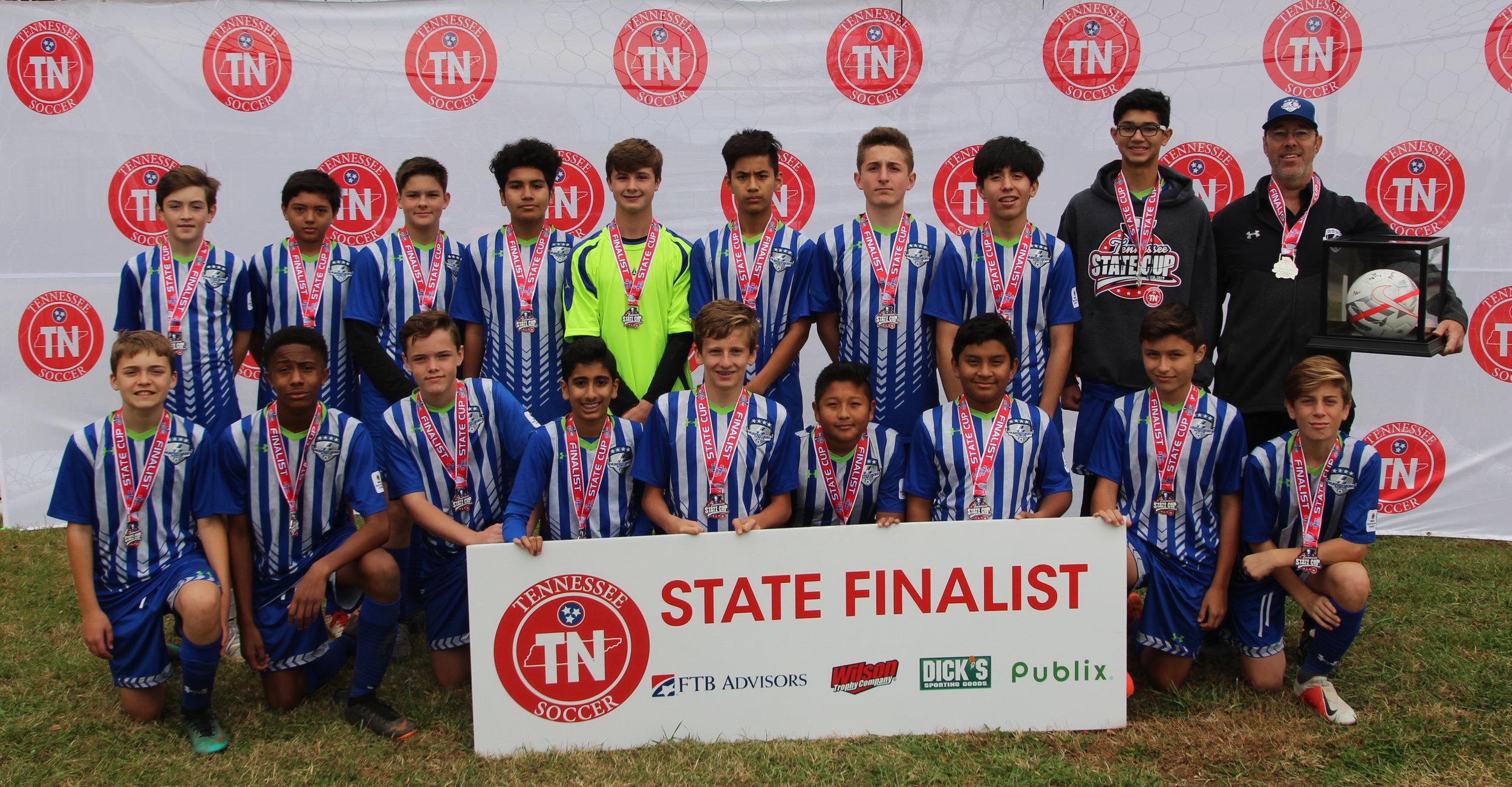 D3 U15 Boys Finalist - 2004/2005 MSC Strikers Elite