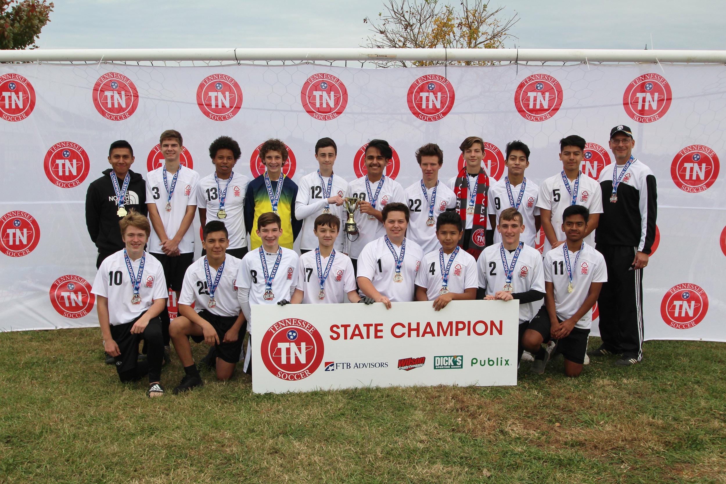 D3 U16 Boys Champion - CFFC 03 Boys
