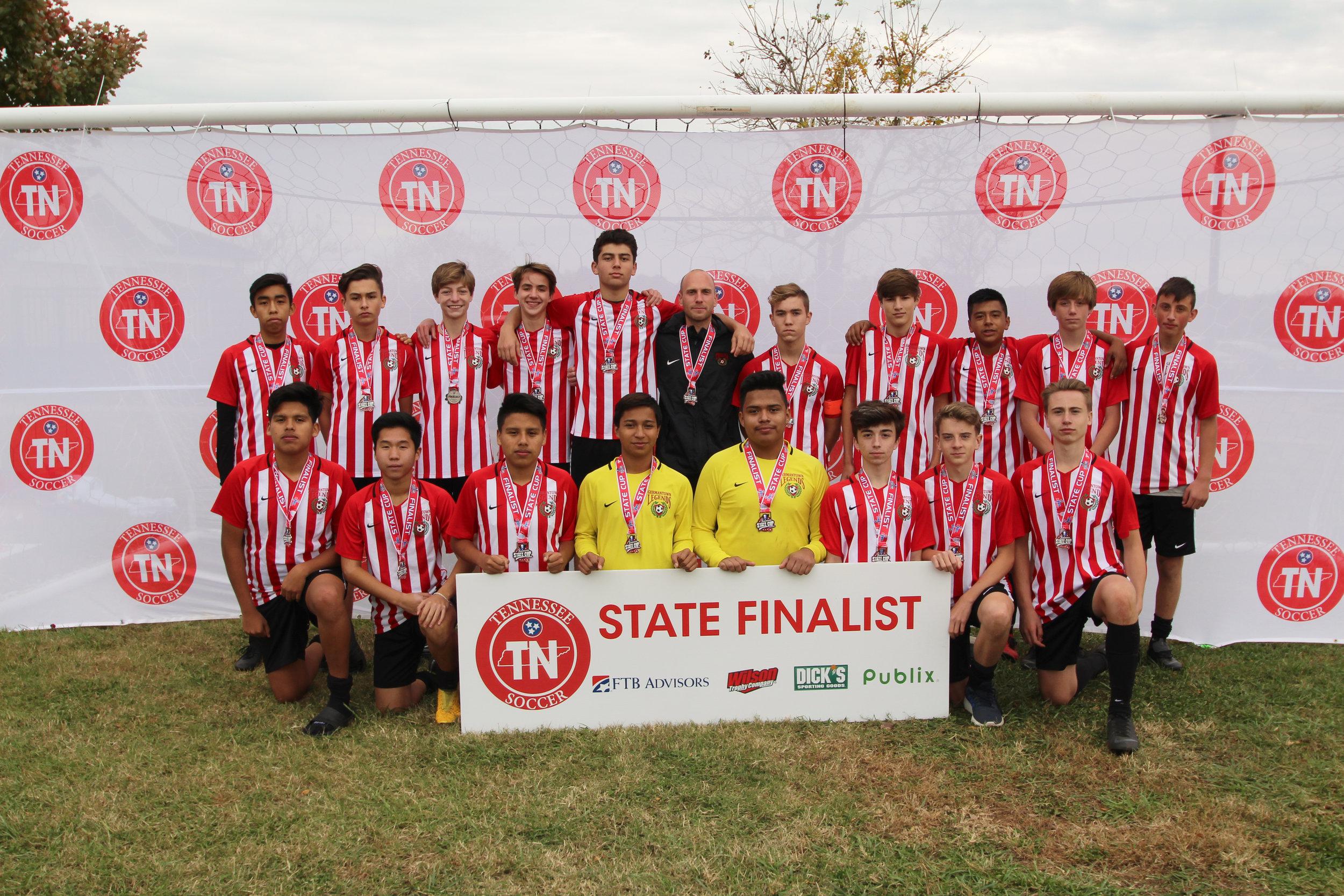 D2 U16 Boys Finalist - Germantown Legends 03 White