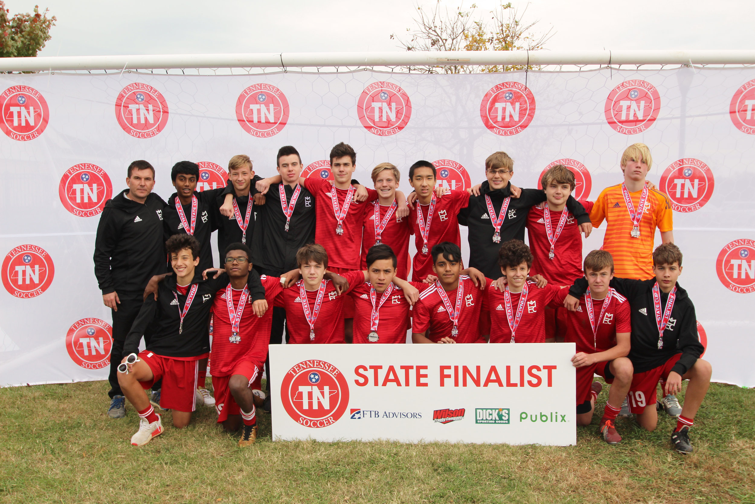 D1 U15 Boys Finalist - Memphis Futbol Club 2004 Boys Blue SL