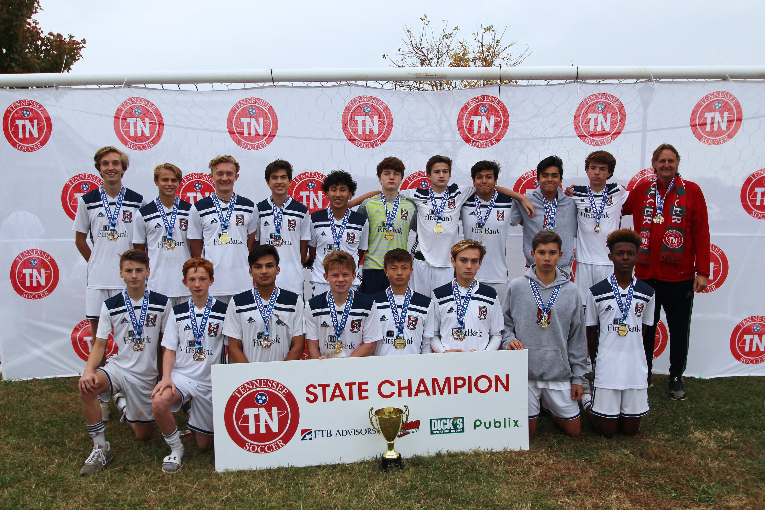 D1 U16 Boys Champion - TUSC 2003 Boys Red