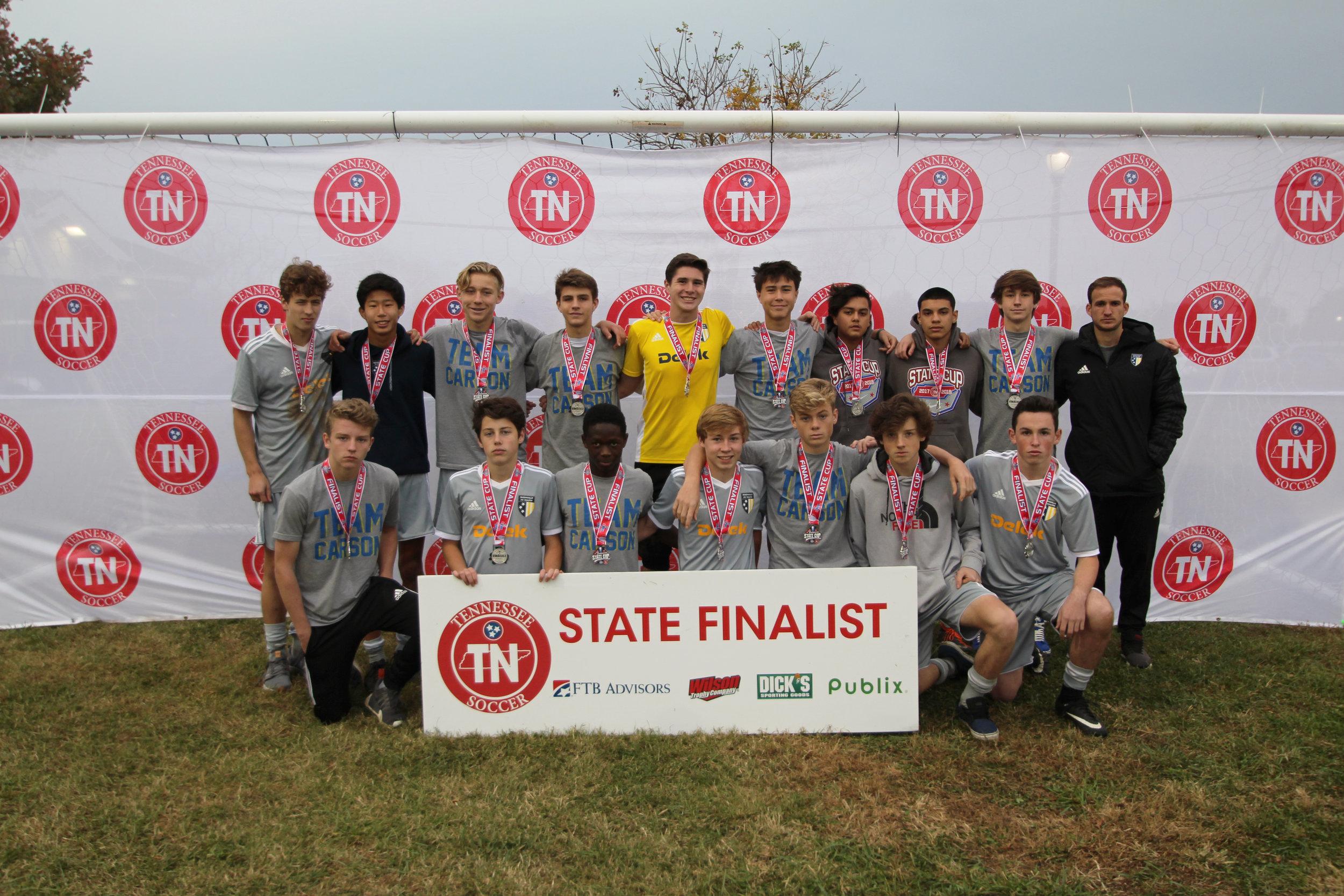 D1 U17 Boys Finalist - 2002 NFC Gold Boys