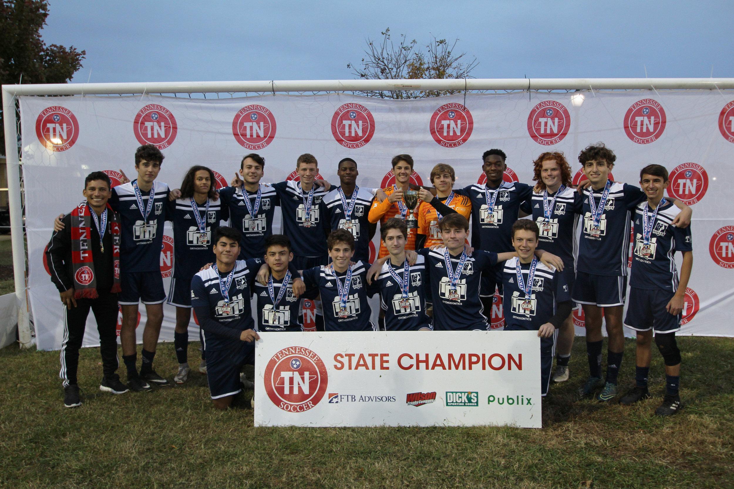 D2 U18 Boys Champion - 01 Wolves