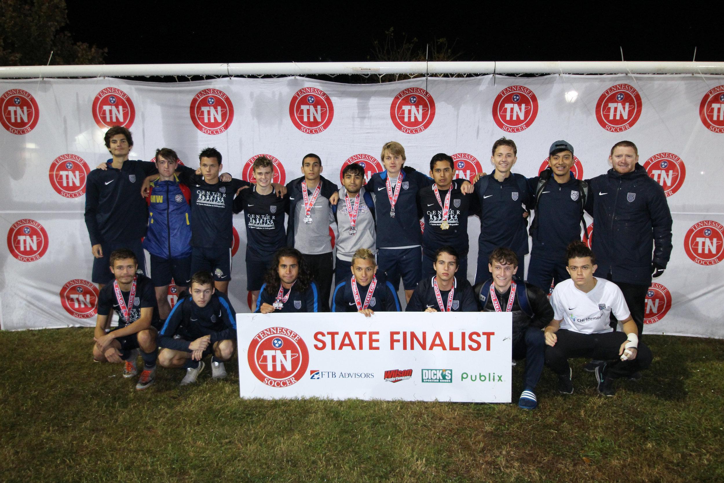 D1 U19 Boys Finalist - Chattanooga FC 00/01 Premier Boys