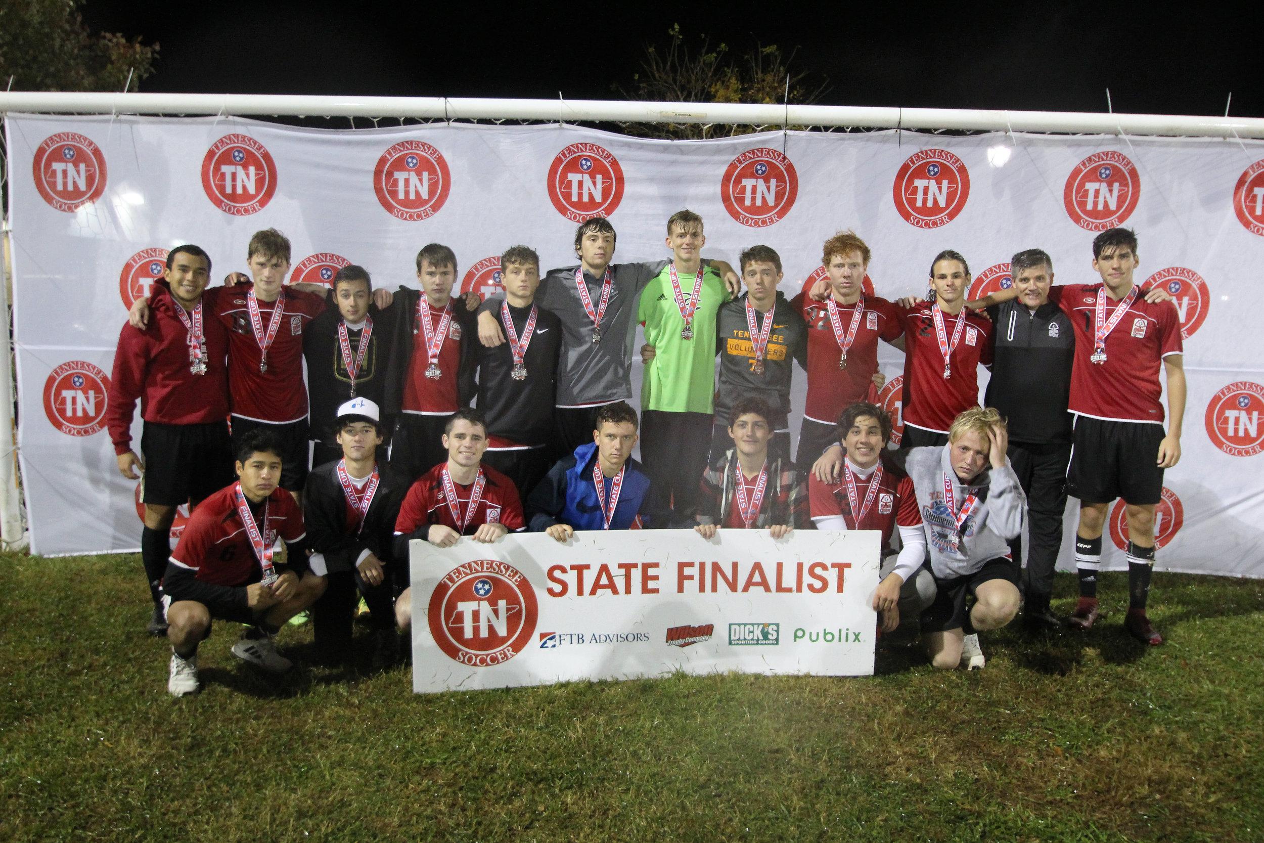 D2 U19 Boys Finalist - CFFC 01 Boys