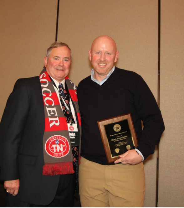 Stuart Brown- United Soccer Coaches Boys Youth Coach of the Year