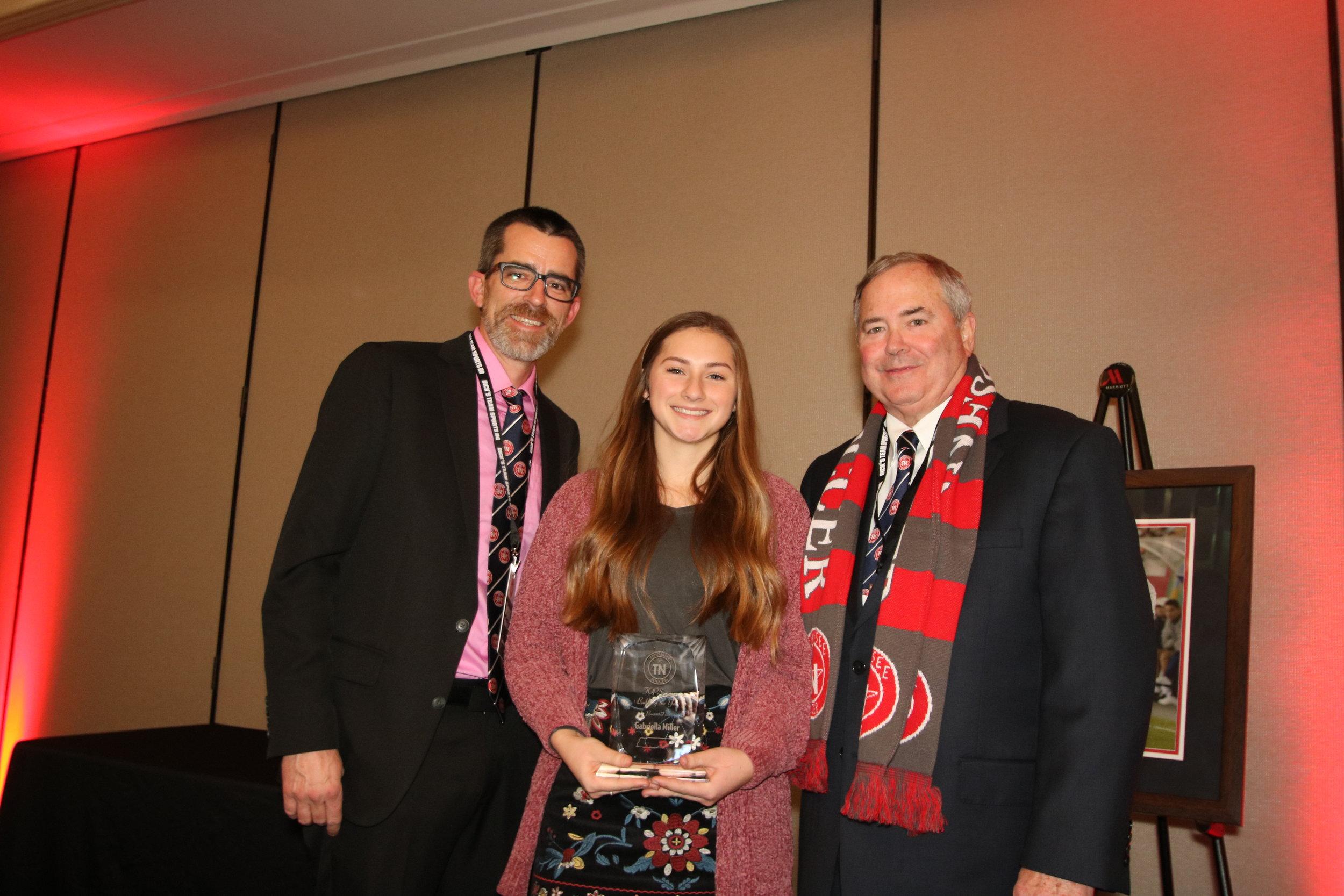 Gabriella Miller- TOPS Coach of the Year