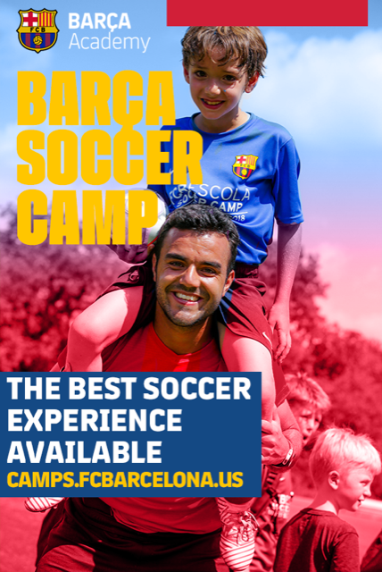 FC Barcelona - FC Barcelona is offering multiple camps this summer including THREE right here in Tennessee (Memphis, Nashville, and Knoxville). Campers will have the opportunity to be coached from coaches from the Barca Academy in Spain and may even be chosen to compete internationally. Early bird pricing is available through the end of March, so click on the image for more information or to register!