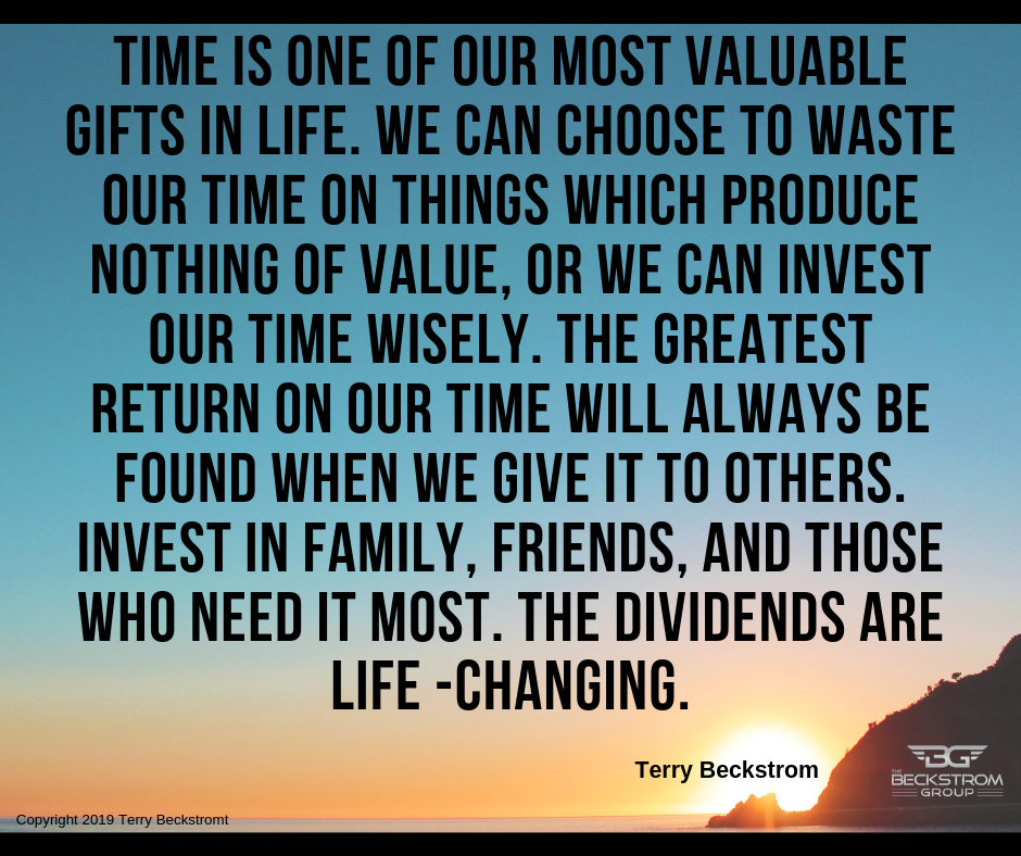 time is one of our most valuable gifts in life. we can choose to waste our time on things which produce nothing of value, or we can invest our time wisely. the greatest return on our time will always  (1).png