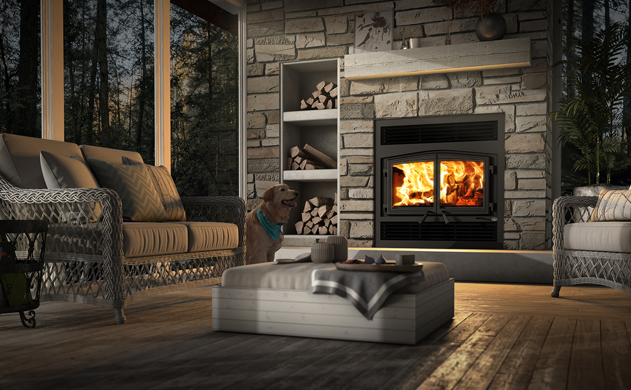 Wood Fireplaces -