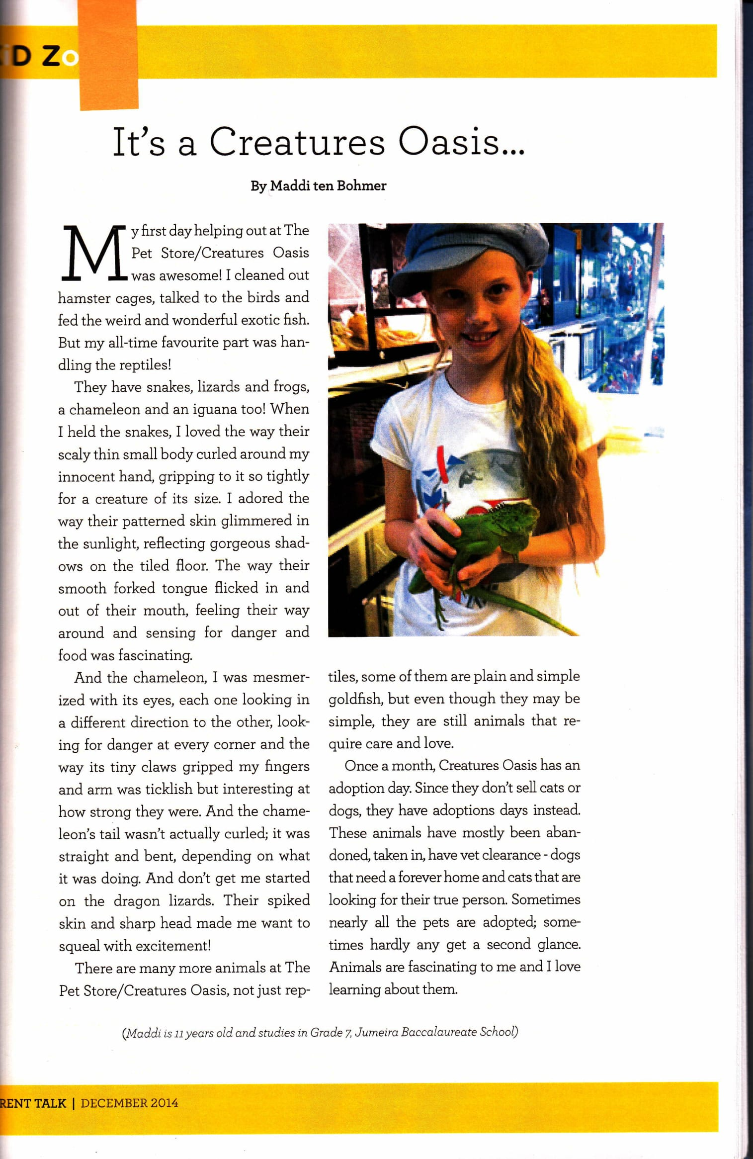 Maddison_Parent Talk Article