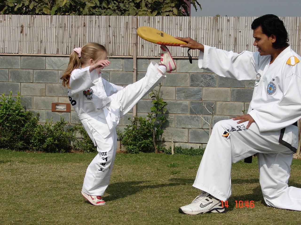Indian Tae Kwon Do