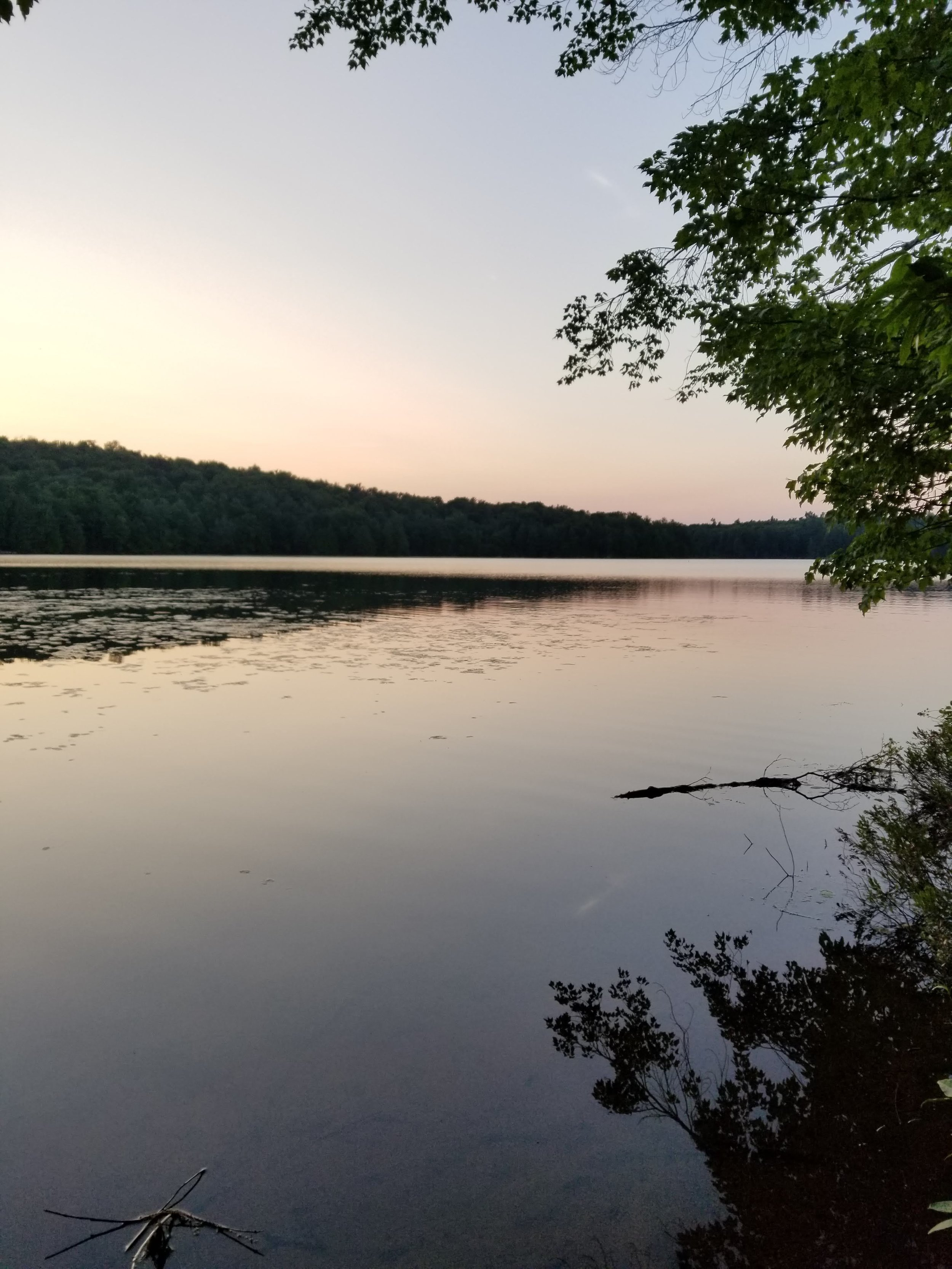 Deadcreek Flow, near Wanakena, NY at sunset. Sights like these are often the focus of my day dreams.