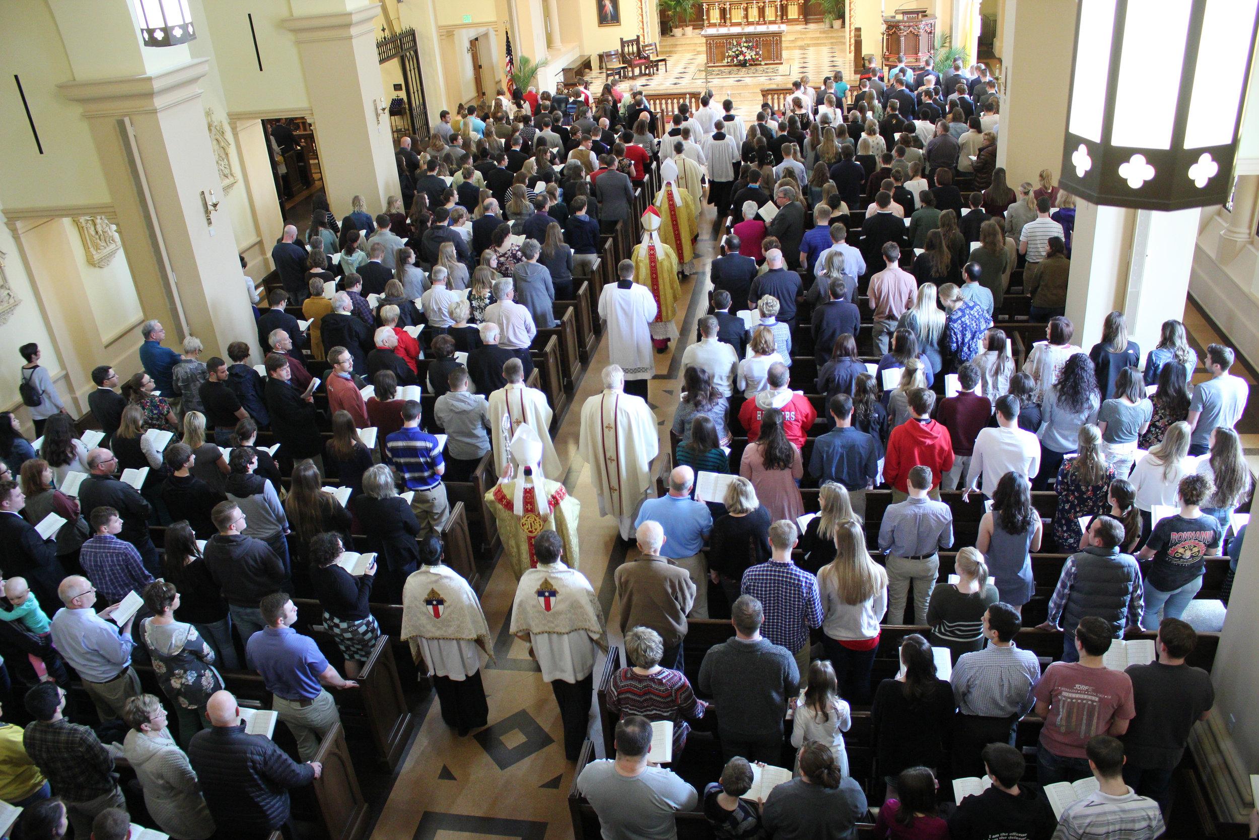 2018-04-22 Apostolic Nuncio Visits Newman-001.jpg