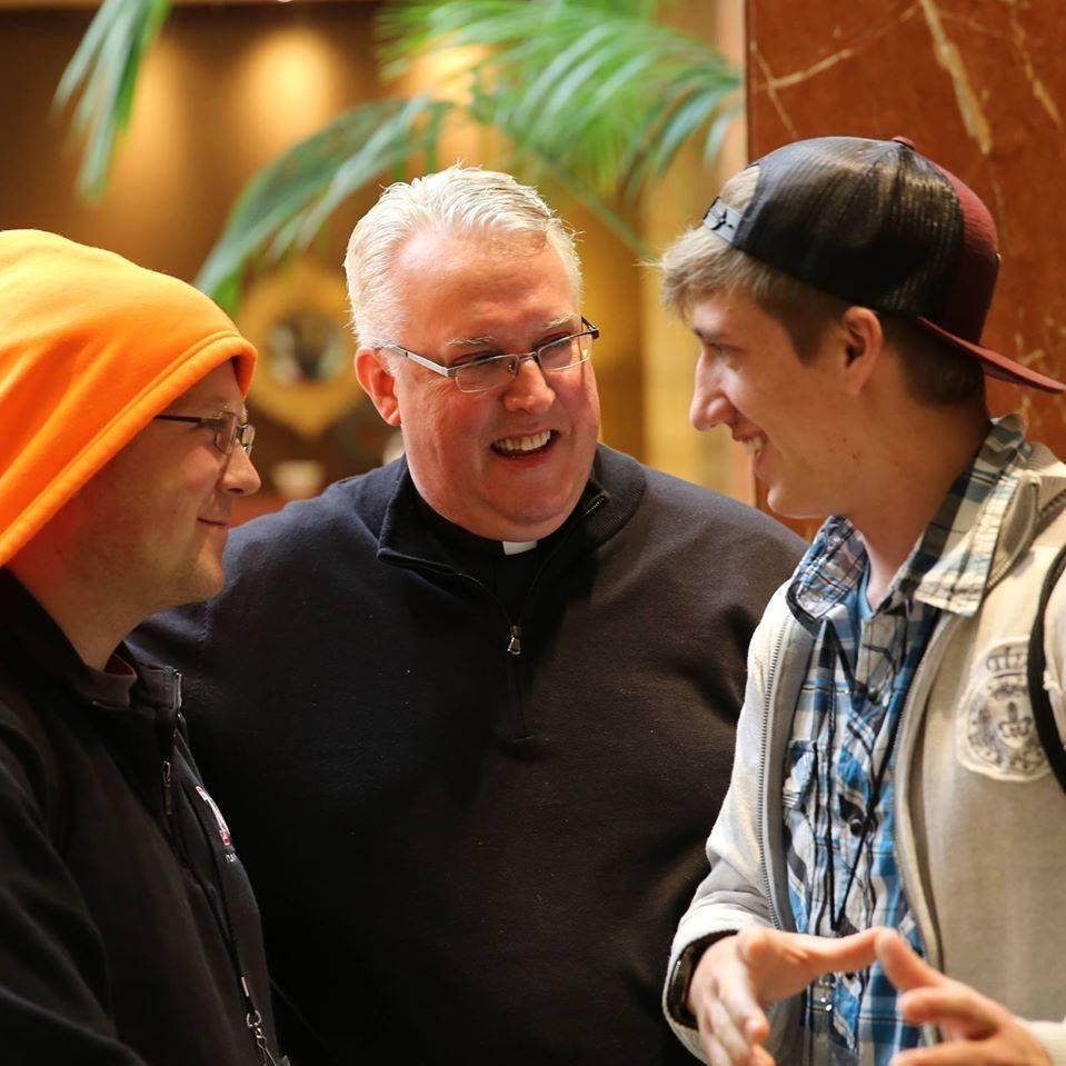 Father Matya's tenure began in 1997.