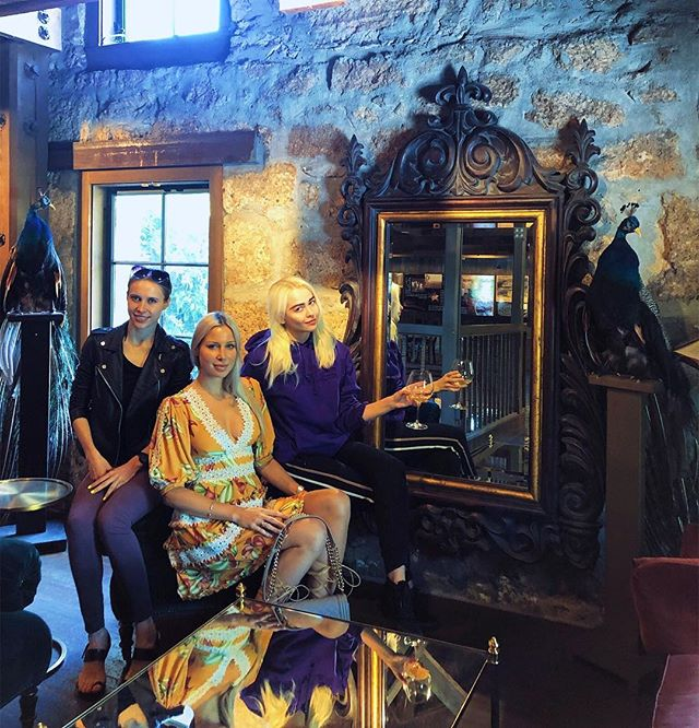 Once upon a time in the fairy land of Napa three women in tech... well, I'm still working on my storytelling skill...