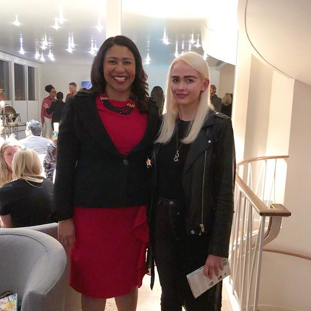 Yesterday I was fortunate to meet this amazing woman. London Breed is a mayor of San Francisco and a true self-made woman. #girlpower