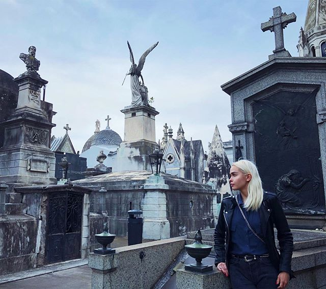 Is it odd that cemetery was one of my favorite places in Buenos Aires? 👻☠️ #larecoletacemetery #tb
