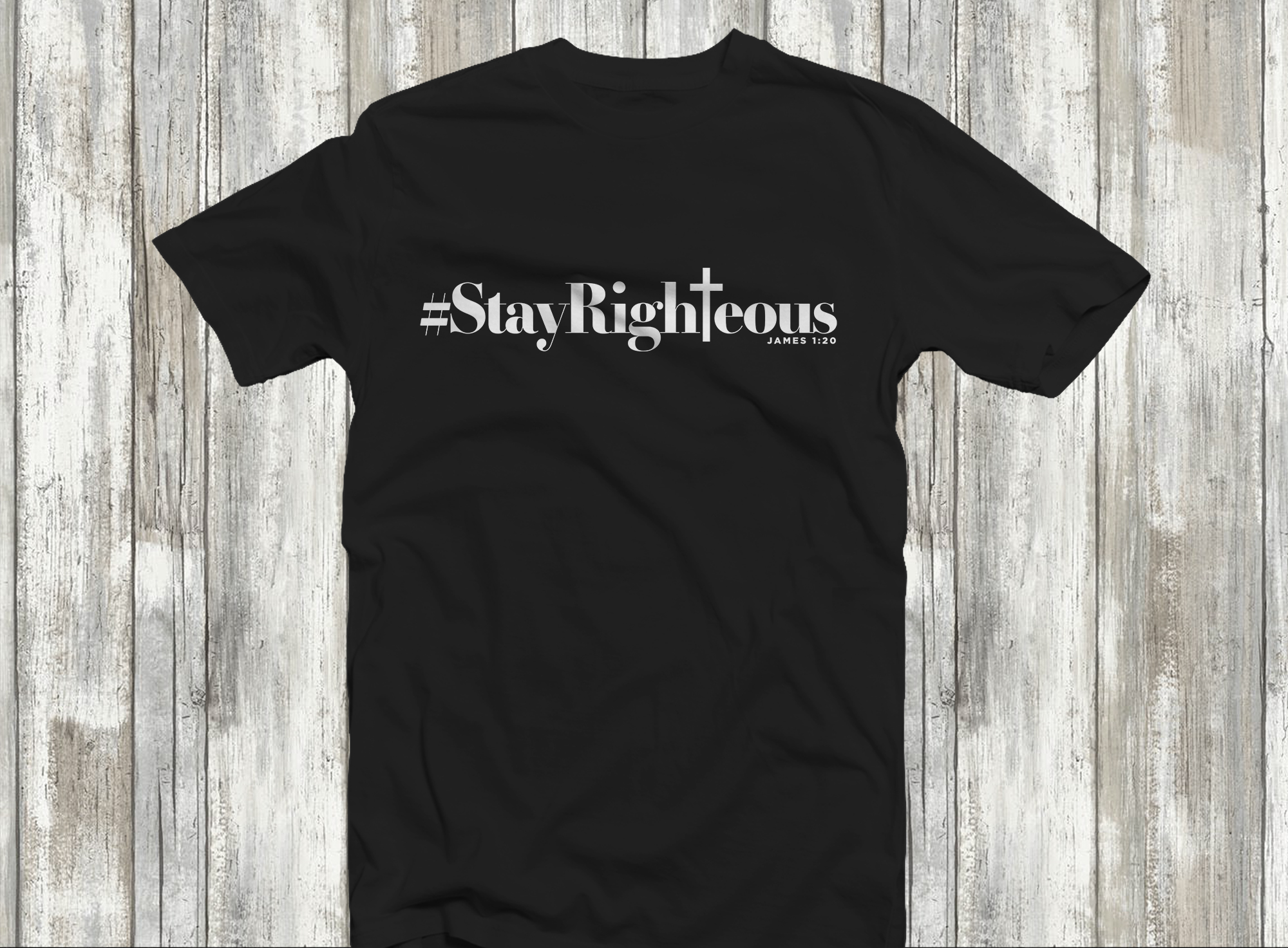 Tina B StayRighteous Tee.JPG