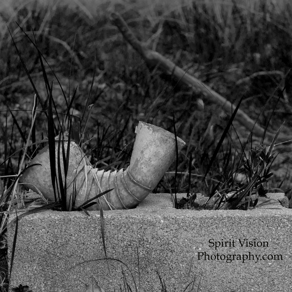 21a-Old Pipe in B&W.jpg