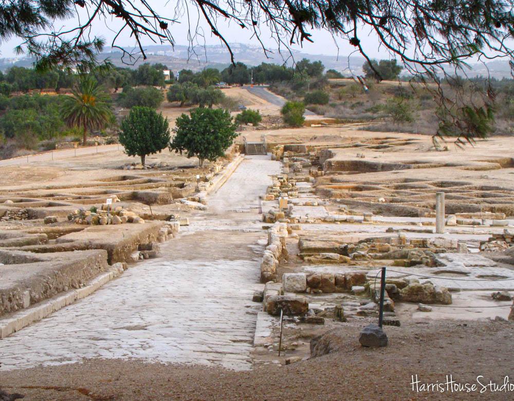 Sepphoris - looking toward Nazareth