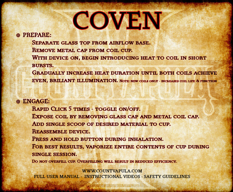 Coven Guide — Count Vapula