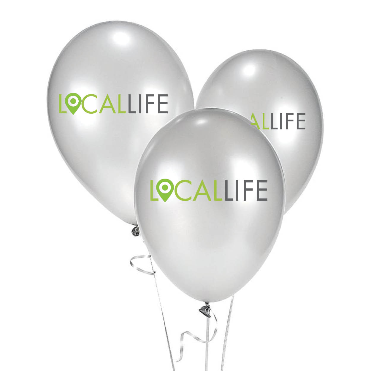 Local Life Balloons, $25/100