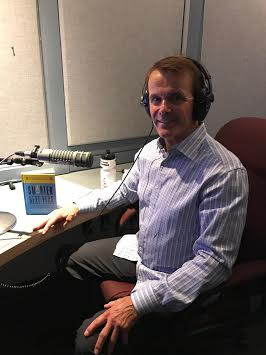 Great fun at CBC RADIO in Fredericton on July 25, 2019 talking to 10 CBC radio Canada hosts from coast to coast about Smarter Next and the 8 Pillars of a Healthy Brain .
