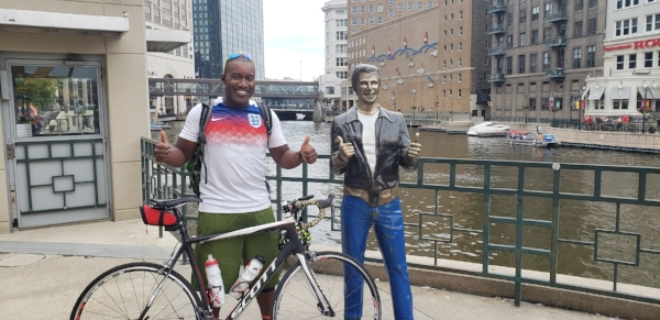 Me and the Fonz