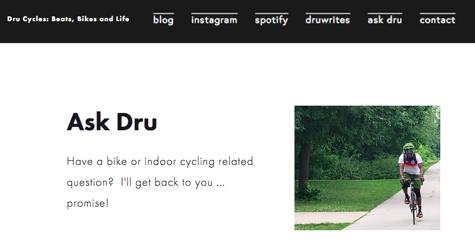 Ask Dru page