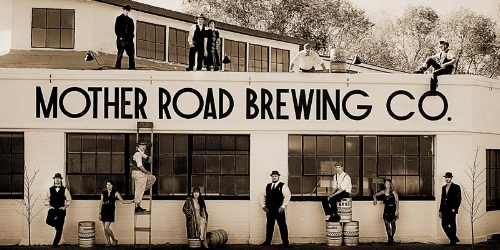 Named after John Steinbeck's moniker for Route 66, Mother Road has an old school welcoming vibe with a new school approach to brewing.