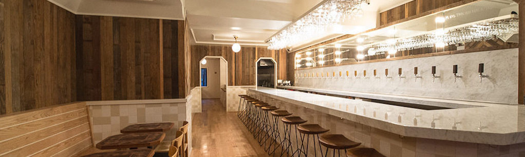 At Tørst, everything is sleek and polished…including the beer lines.
